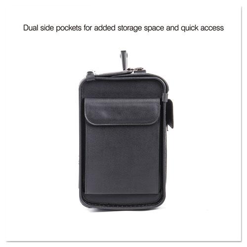 Catalog Case on Wheels, Koskin, 19 x 9 x 15-1/2, Black. Picture 12