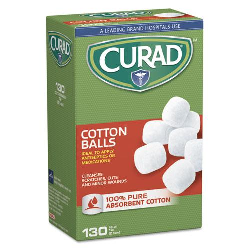 """Sterile Cotton Balls, 1"""", 130/Box. Picture 1"""