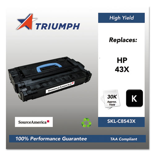 751000NSH0354 Remanufactured C8543X (43X) High-Yield Toner, Black. Picture 1