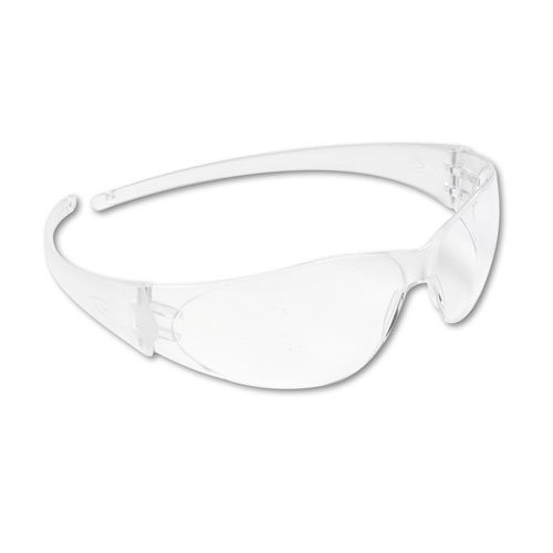Checkmate Wraparound Safety Glasses, CLR Polycarbonate Frame, Coated Clear Lens. Picture 2