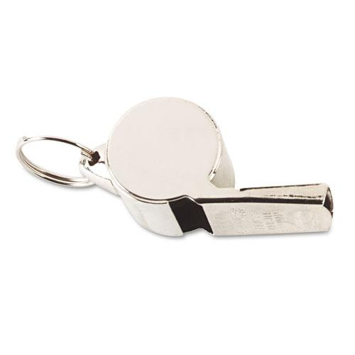 Sports Whistle, Heavy Weight, Metal, Silver. Picture 2