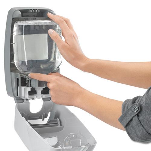 FMX-12T Foam Soap Dispenser, 1,250 mL, 6.25 x 5.12 x 9.88, Dove Gray. Picture 3