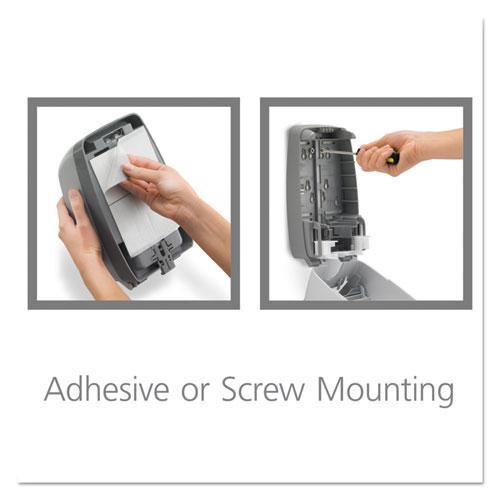 FMX-12T Foam Soap Dispenser, 1,250 mL, 6.25 x 5.12 x 9.88, Dove Gray. Picture 6