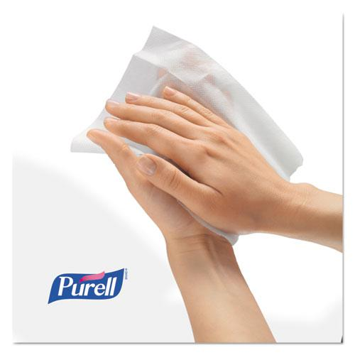 Hand Sanitizing Wipes, 7 x 6, Alcohol Free, Fresh Scent, 20/Pack, 28/Carton. Picture 4