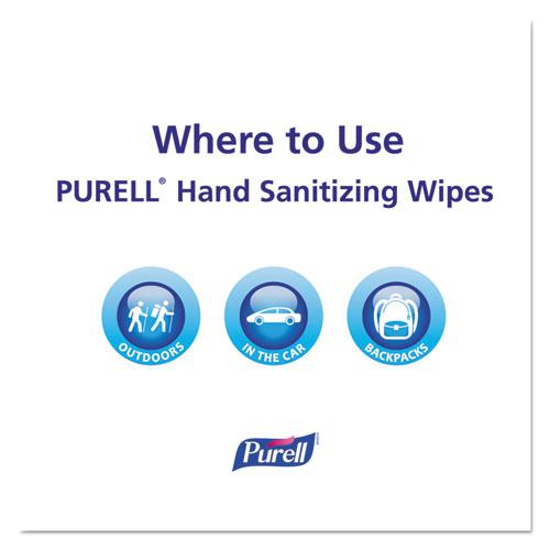 Hand Sanitizing Wipes, 7 x 6, Alcohol Free, Fresh Scent, 20/Pack, 28/Carton. Picture 5