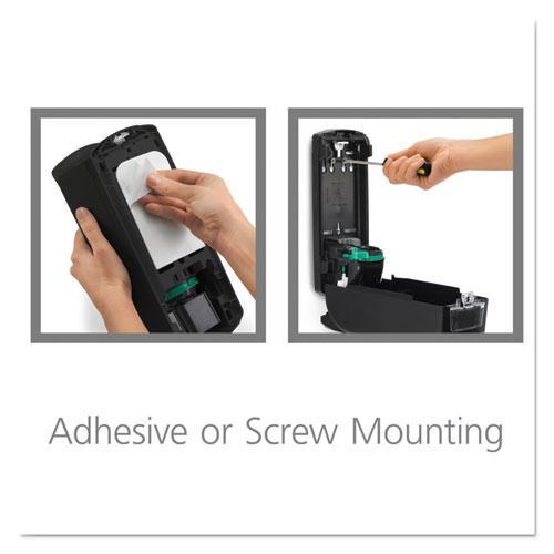 ADX-12 Dispenser, 1,200 mL, 4.5 x 4 x 11.25, Chrome/Black. Picture 9