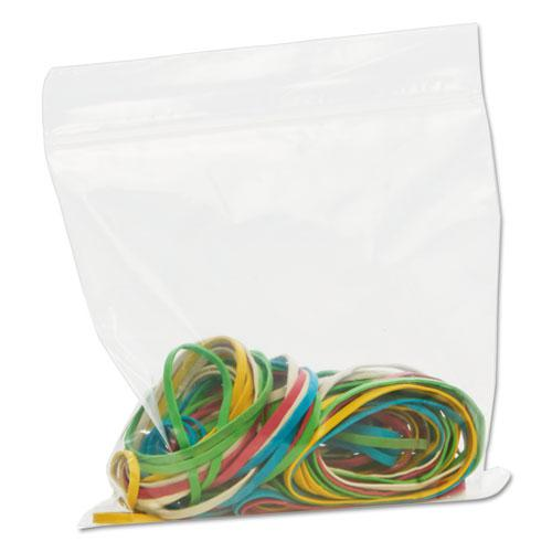 Zip-Seal Closure Bags, Clear, 6 x 6, 1000/Carton. Picture 14