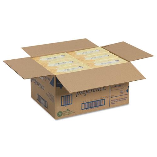 Facial Tissue, 2-Ply, White, Flat Box, 100 Sheets/Box, 30 Boxes/Carton. Picture 3