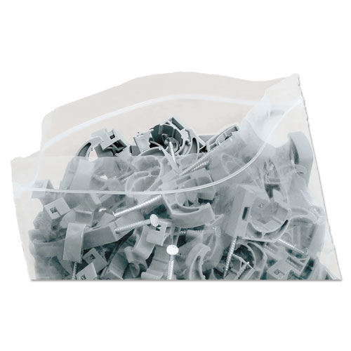 "Seal Closure Bags, 2 mil, 12"" x 12"", Clear, 500/Carton. Picture 13"