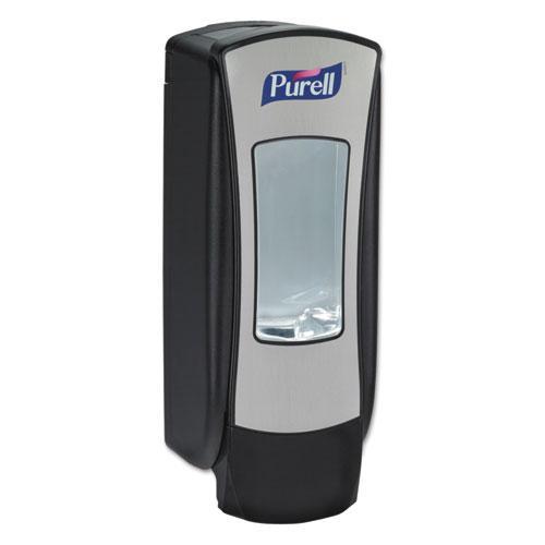 ADX-12 Dispenser, 1,200 mL, 4.5 x 4 x 11.25, Chrome/Black. Picture 1
