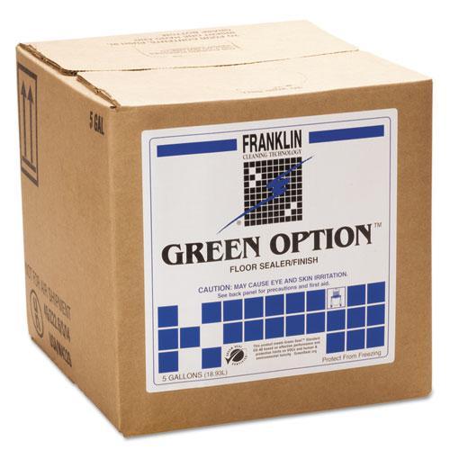 Green Option Floor Sealer/Finish, 5gal Box. Picture 1
