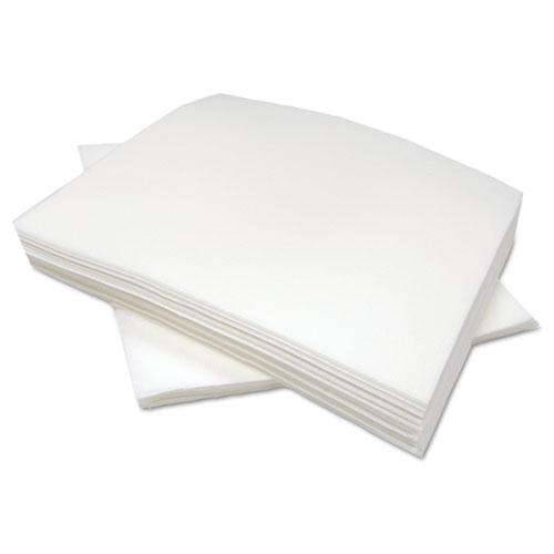 Tuff-Job Airlaid Wipers, Medium, 12 x 13, White, 900/Carton. Picture 1