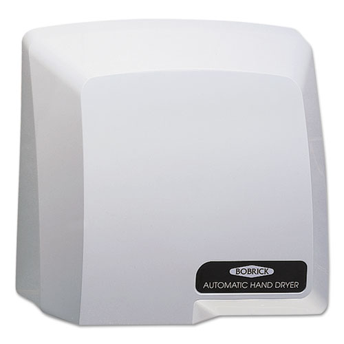Compact Automatic Hand Dryer, 115V, Gray. Picture 1