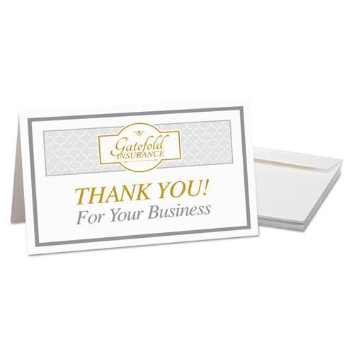 Half fold greeting cards inkjet 5 12 x 8 12 matte white 30box also consider m4hsunfo