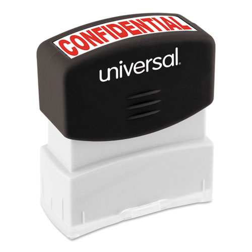 Message Stamp, CONFIDENTIAL, Pre-Inked One-Color, Red. Picture 2