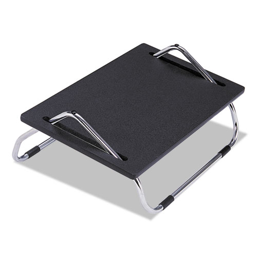 Ergo-Comfort Adjustable Footrest, 18.5w x 11.5d x 8h, Black. Picture 1