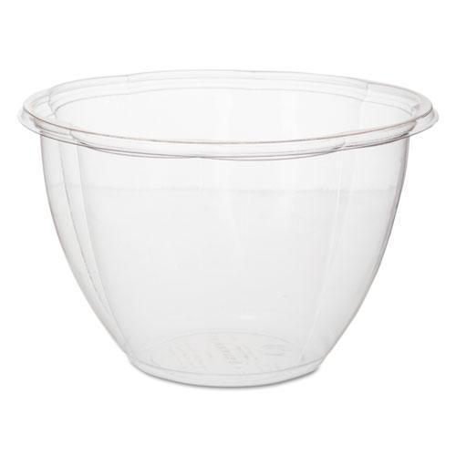 """Salad Bowls, 48 oz, 6.69"""" Diameter x 4.38""""h, Clear, 300/Carton. Picture 1"""