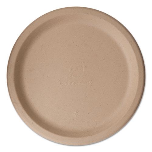 "Wheat Straw Dinnerware, Plate, 10"" Diameter, 500/Carton. Picture 1"