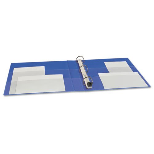 """Heavy-Duty Non-View Binder with DuraHinge and One Touch EZD Rings, 3 Rings, 1"""" Capacity, 11 x 8.5, Blue. Picture 3"""