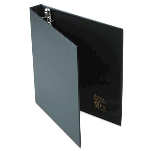 """Heavy-Duty Non-View Binder with DuraHinge and One Touch EZD Rings, 3 Rings, 1"""" Capacity, 11 x 8.5, Black. Picture 5"""