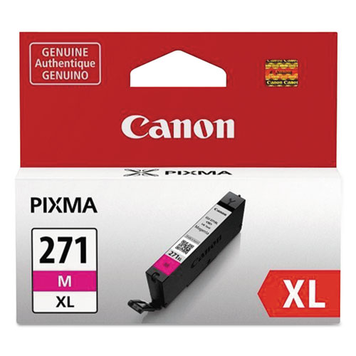 0338C001 (CLI-271XL) High-Yield Ink, Magenta. Picture 1