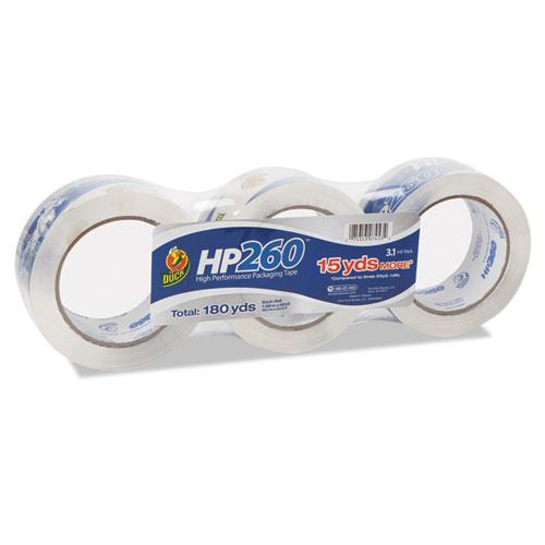 """HP260 Packaging Tape, 3"""" Core, 1.88"""" x 60 yds, Clear, 3/Pack. Picture 1"""