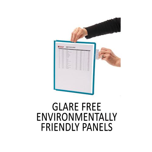 SHERPA Desk Reference System, 10 Panels, 10 x 5 5/8 x 13 7/8, Assorted Borders. Picture 8