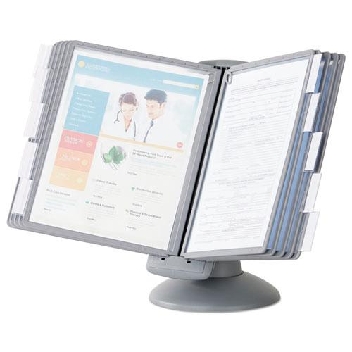 SHERPA Motion Desk Reference System, 10 Panels, Gray Borders. Picture 2