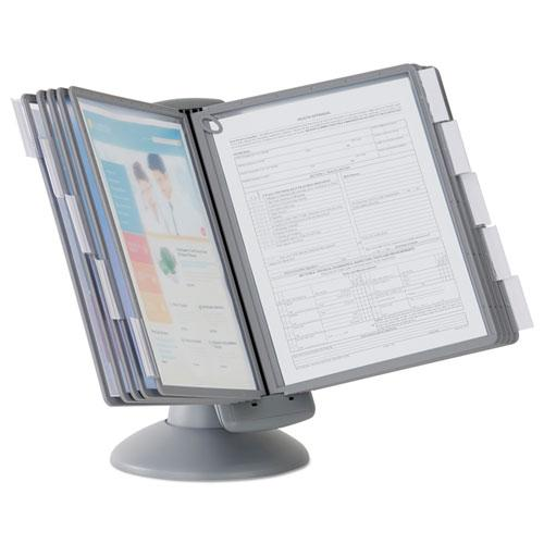 SHERPA Motion Desk Reference System, 10 Panels, Gray Borders. Picture 3