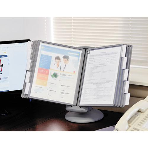 SHERPA Motion Desk Reference System, 10 Panels, Gray Borders. Picture 11