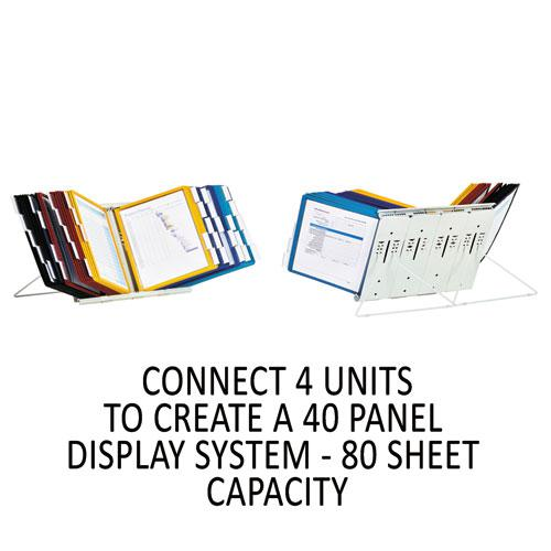 InstaView Expandable Desktop Reference System, 10 Panels, Assorted Borders. Picture 10