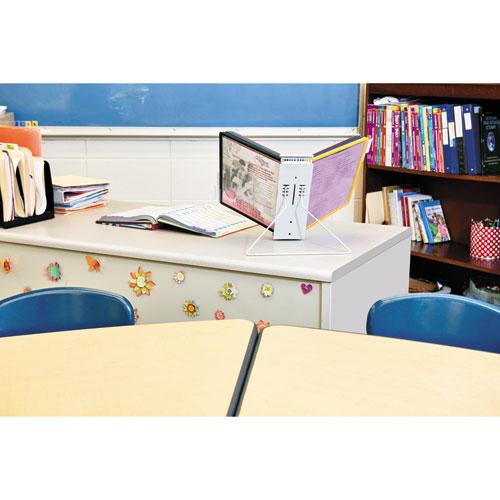 InstaView Expandable Desktop Reference System, 10 Panels, Assorted Borders. Picture 3