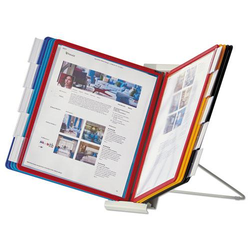 InstaView Expandable Desktop Reference System, 10 Panels, Assorted Borders. Picture 4