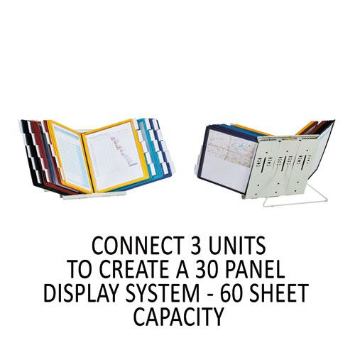 InstaView Expandable Desktop Reference System, 10 Panels, Assorted Borders. Picture 9