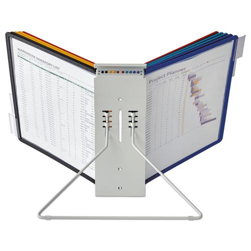 InstaView Expandable Desktop Reference System, 10 Panels, Assorted Borders. Picture 5