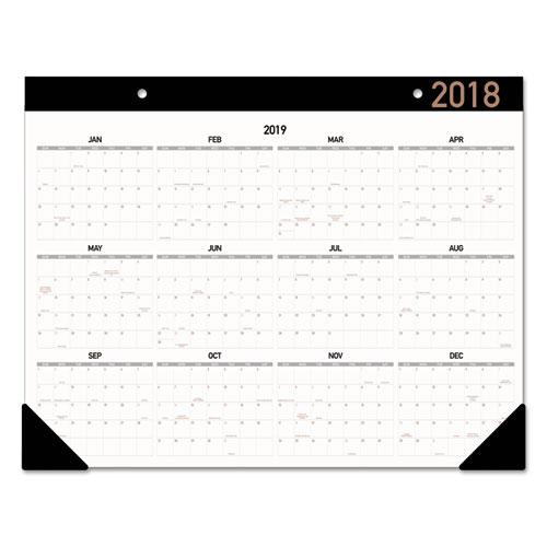 Contemporary Monthly Desk Pad 21 3 4 X 17 2018