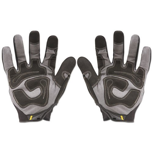 General Utility Spandex Gloves, Black, X-Large, Pair. Picture 4