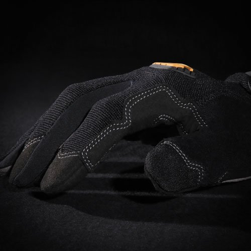 General Utility Spandex Gloves, Black, X-Large, Pair. Picture 7