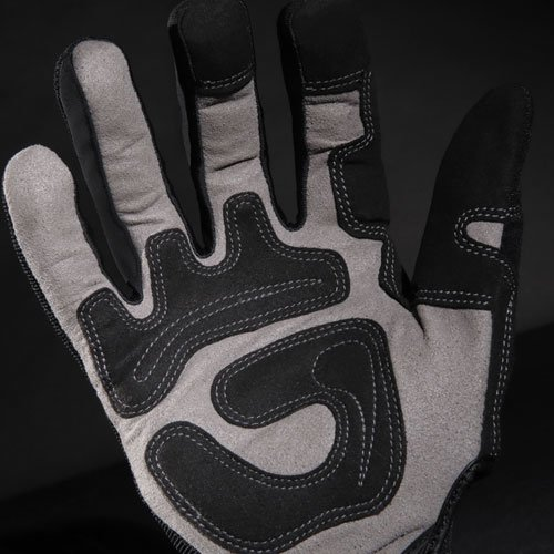 General Utility Spandex Gloves, Black, X-Large, Pair. Picture 8