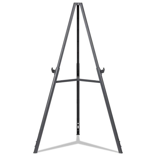 """Quantum Heavy Duty Display Easel, 35.62"""" - 61.22""""H, Plastic, Black. Picture 6"""