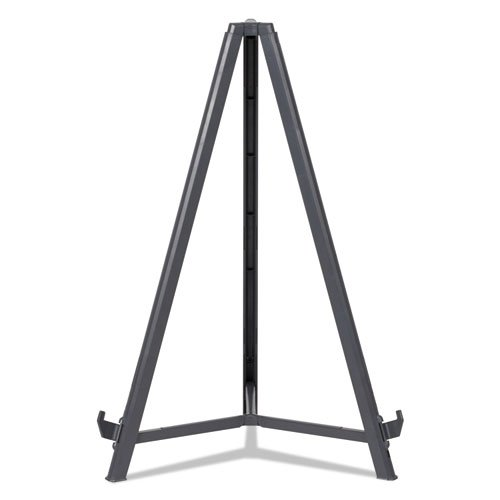 """Quantum Heavy Duty Display Easel, 35.62"""" - 61.22""""H, Plastic, Black. Picture 7"""