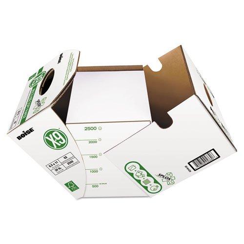 X-9 SPLOX Multi-Use Paper , 92 Bright, 20 lb, 8.5 x 11, White, 2500 Sheets/Carton. Picture 2