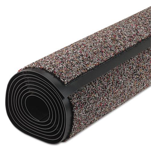 Classic Berber Wiper Mat, Nylon/Olefin, 36 x 120, Gray. Picture 1