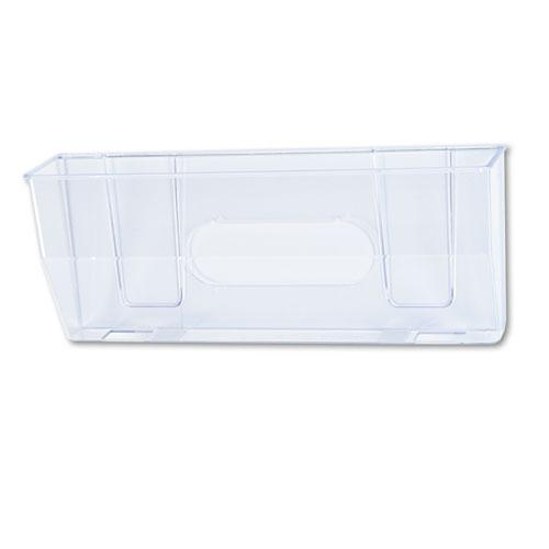 Magnetic DocuPocket Wall File, Legal, 15 x 3 x 6 3/8, Clear. Picture 1