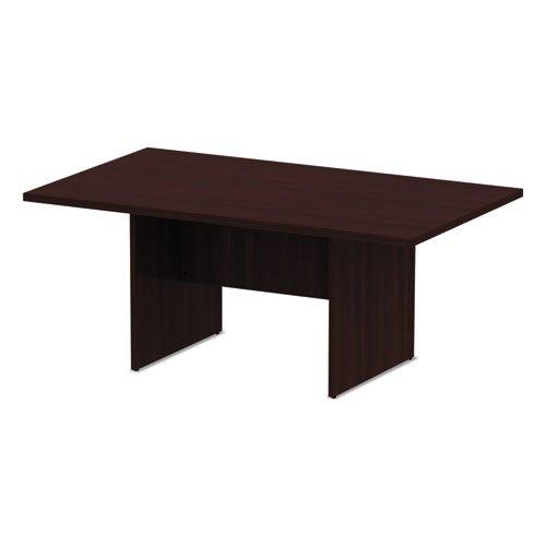Alera Valencia Series Conference Table, Rect, 70 7/8 x 41 3/8 x 29 1/2, Mahogany. Picture 2