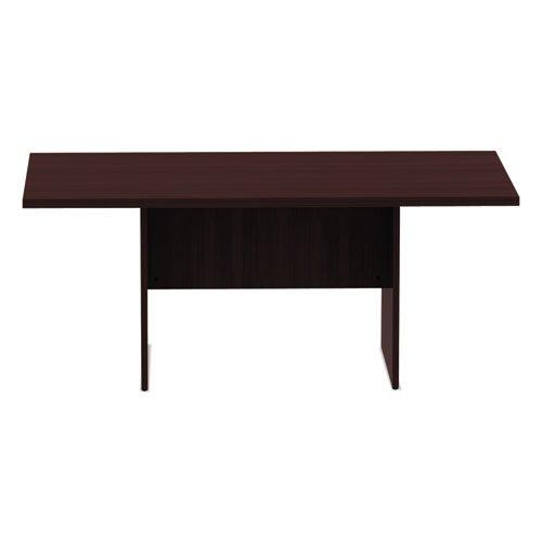 Alera Valencia Series Conference Table, Rect, 70 7/8 x 41 3/8 x 29 1/2, Mahogany. Picture 3