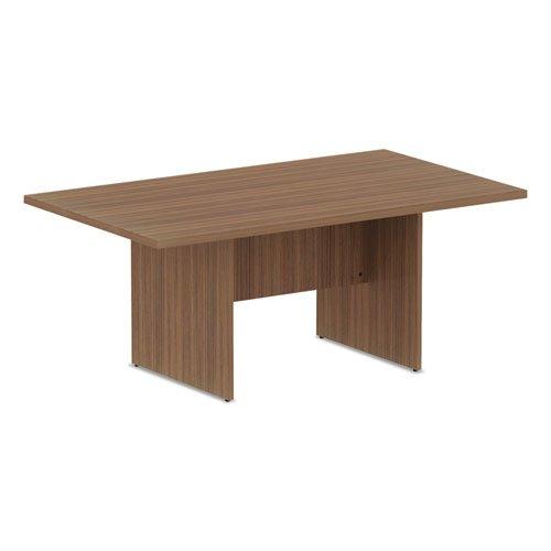 Alera Valencia Series Conference Table, Rect, 70.88 x 41.38 x 29.5, Mod Walnut. Picture 2
