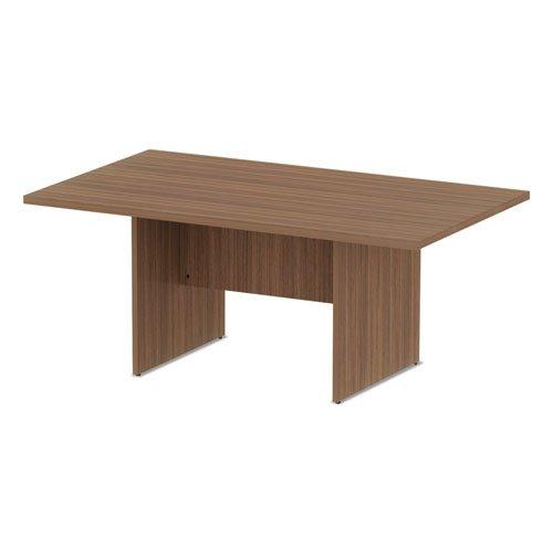 Alera Valencia Series Conference Table, Rect, 70.88 x 41.38 x 29.5, Mod Walnut. Picture 3