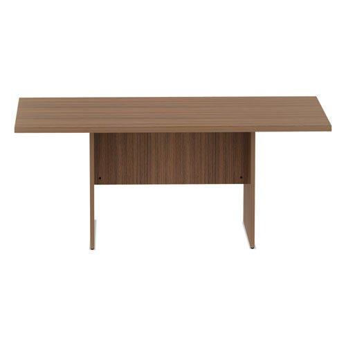 Alera Valencia Series Conference Table, Rect, 70.88 x 41.38 x 29.5, Mod Walnut. Picture 1