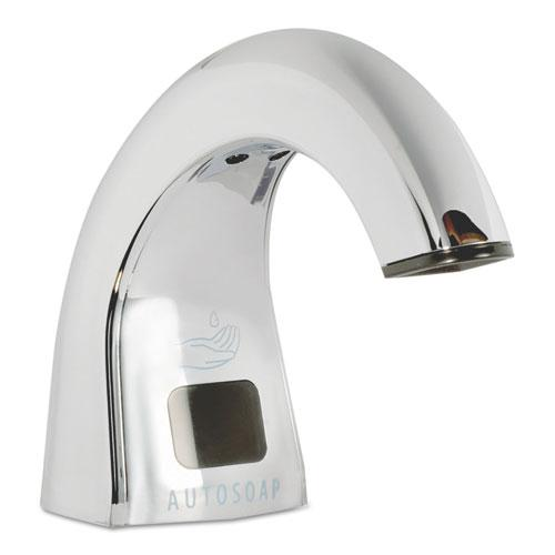 One Shot Soap Dispenser - Touch Free, Polished Chrome, 2 lbs. Picture 1